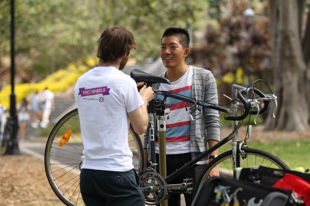 Free Bicycle Tune Up
