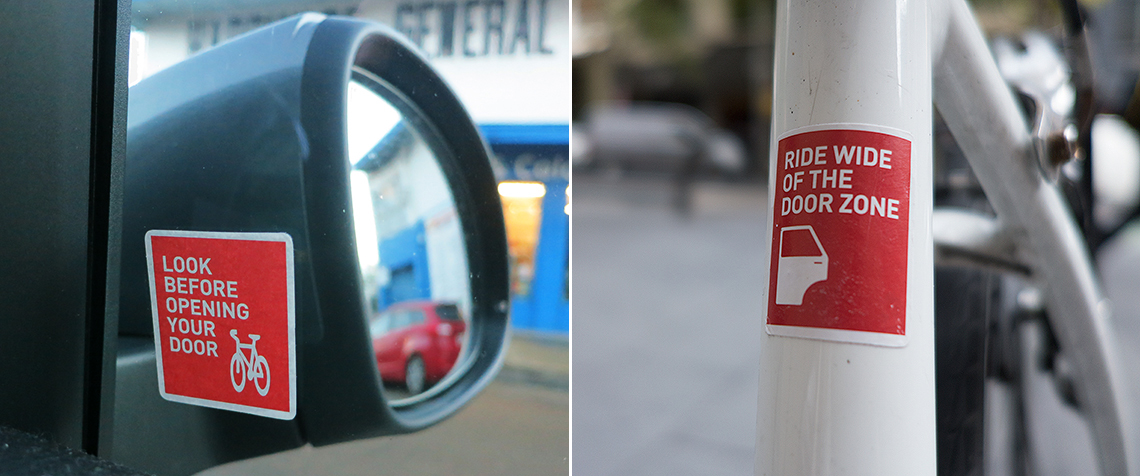 Receive FREE Stickers for your car or bike