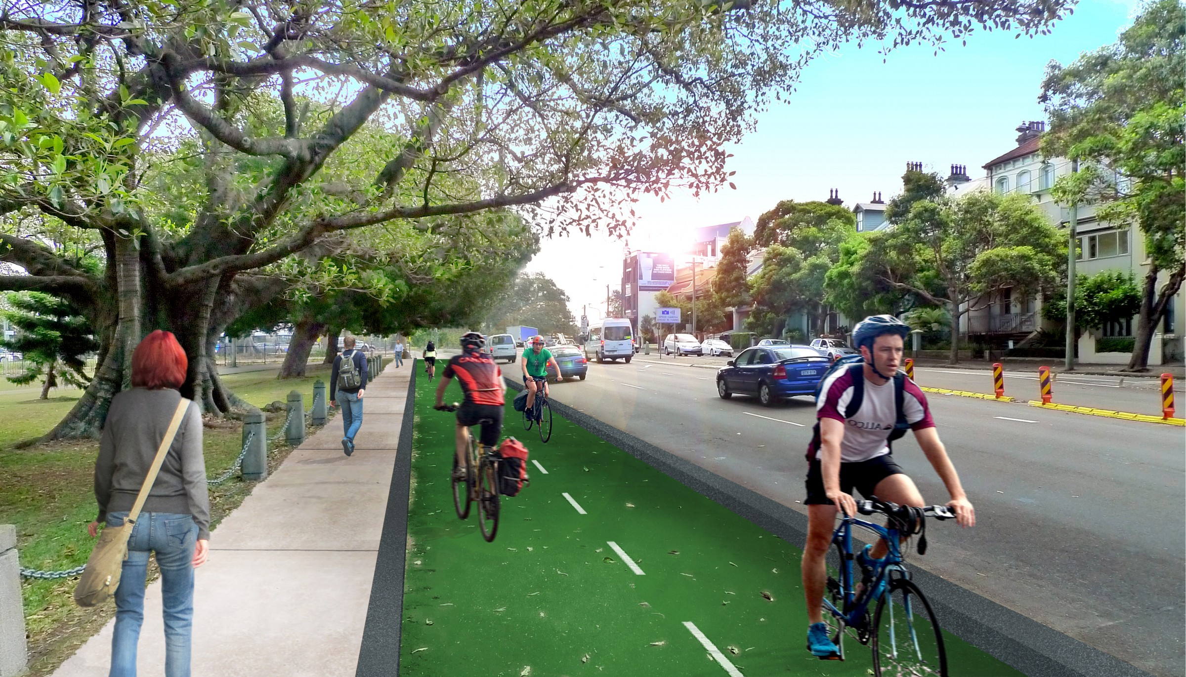 Projects Archive Sydney Cycleways